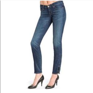 J Brand The Deal Skinny Leg Jeans Side Zipper - 25